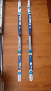 Rossignol BC65 BackCountry Cross-country Skis Metal Edges 175cm