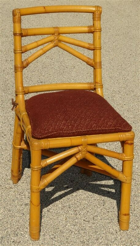 CALIF-ASIA Mid Century Rattan Chair