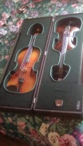 Antique Viola and Violin
