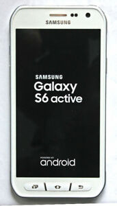 Samsung S6 active edition, white, like new.