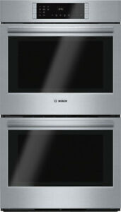 NEW Bosch 800 Series Stainless Steel Double Wall Oven for Sale