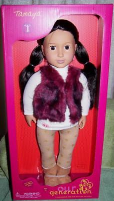 "Our Generation TAMAYA 18"" Doll New"