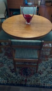 Solid Wood Mid Century Style Dining Set (REDUCED!)