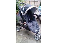 City Baby Mini Jogger Black/Grey Stroller Buggy Pushchair