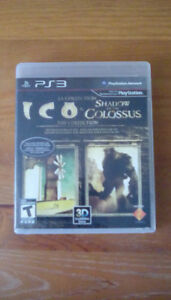 Playstation 3 PS3 - ICO & SHADOW OF THE COLOSSUS
