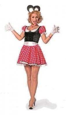 Micky Mickey Minny Minni Minnie Maus Mouse Disnay Kleid Kostüm - Minnie Mickey Kostüm