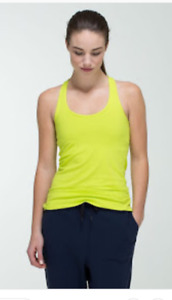 Lululemon sz4 CRB Like new worn 1x washed 1x yellow green color