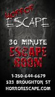 Escape Room Employee - Now Hiring