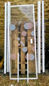 Shower screen door and frame