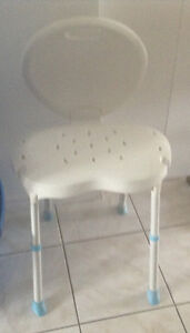 Tub chair /adult bibs/ back massager   Chair 35.00  Bibs 8.00 ea