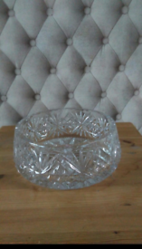 Crystal bowl in good condition