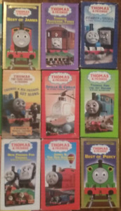 Lot of 24 vhs Thomas the Tank Engine & Friends