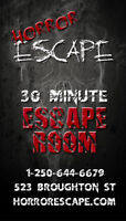Escape Room Staff - Now Hiring