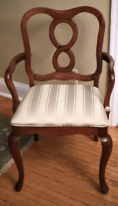 Gibbard Solid Cherry French Provincial Dining Chairs