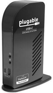 Computer docking station - Plugable USB-C Triple Display