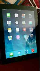 Ipad 2 64 gb WiFi + cellular $180 firm! *THIN HAIRLINE CRACK* London Ontario image 1