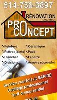 Rénovation Pro-Concept 514-756-3897
