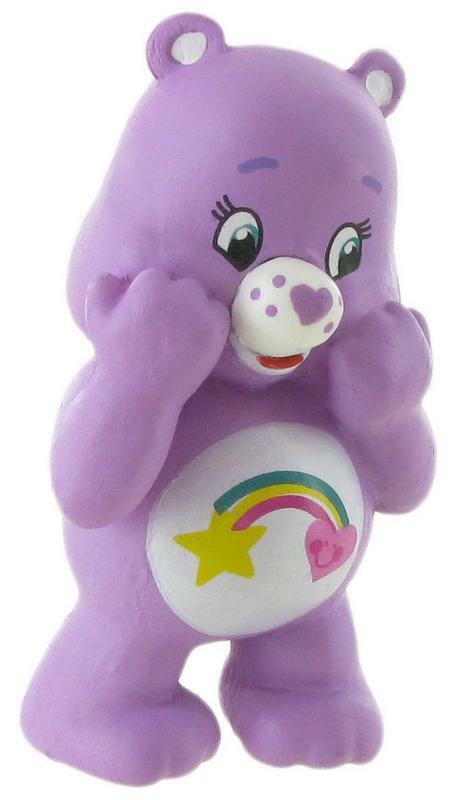 The Teddy Bear Figurine Best Friend Bear 2 3/8in Care Bears Comansi 99644