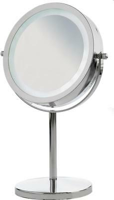 Andrew James LED Illuminated Light Up Vanity Mirror for Makeup or Shaving