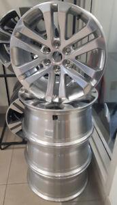 New-2015-2018 GMC Canyon Polished Aluminum Wheels- Set of 4