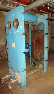 Tranter Plate Frame Heat Exchanger Model Tw-108-hp-33. Includes 26 Plates