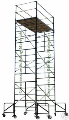 New 5 X 10 X 208 Scaffold Rolling Tower Wguardrail