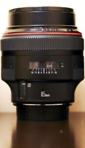 *SELL FAST* Canon 85 mm f 1.2 L II mark 2 USM zoom lens