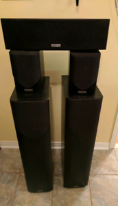Mission M33 and M30 speakers