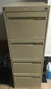 $50 Used legal sized filing cabinet