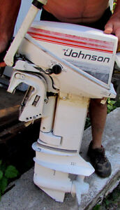 1981 Johnson 9.9 horse marine motor