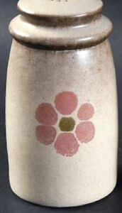 """Denby """"Gypsy"""" Pepper Shaker with  """"P"""" holes on top"""