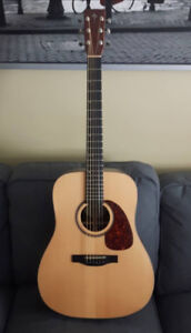 Simon and Patrick Showcase Rosewood acoustic guitar package