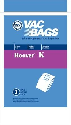 Hoover Vacuum Bags Style K 6 Pack for sale  Shipping to India