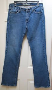LADIES SIZE 8 LONG 'OLD NAVY' JEANS EXCELLENT CONDITION