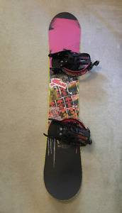Great Offer on Board and Bindings Combo! Free Board Bag!!