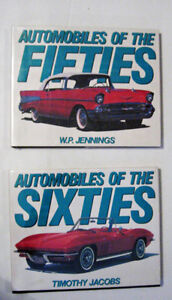 Automobiles of the 50 s and 60 s