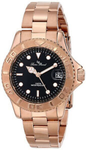 Lucien Piccard Men's Walen Swiss Quartz Rose Gold Watch