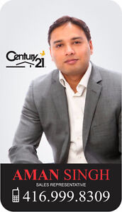 Get Top $$$ for your Property? Call your Realtor - Aman Singh !!