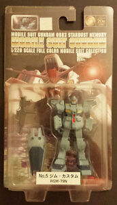 Mobile Suit Gundam 0083 - RGM-79N - OPENED, NEW
