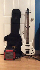 *New* Epiphone Toby 4 String Bass Guitar Package Deal