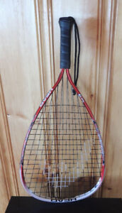 racquetball racquet , used once
