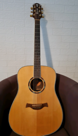 Crafter TD 036/N electro acoustic guitar