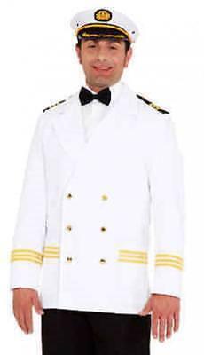 Kapitän Jacke Matrosen Kostüm Jacket Mariene Seemann Offizier Captain Uniform (Matrosen Uniform Herren Kostüme)