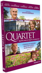 Quartet-Dvd-Maggie Smith,Billy Connolly-New and sealed + bonus