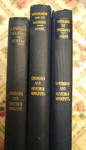 Set 3 Antique Medical Obstetrics Cesarean Complications