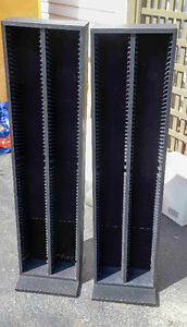 CD Storage Racks - Black Kitchener / Waterloo Kitchener Area image 1