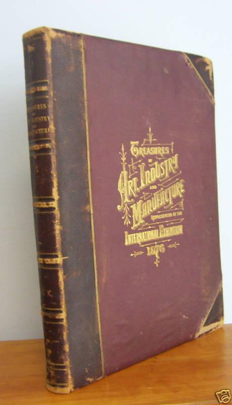 1876 American Centennial Philadelphia Exhibition Treasures, 50 Chromos