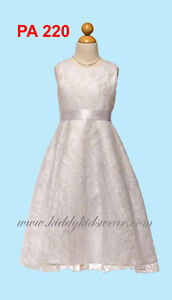 First communion dresses and flower girl dresses