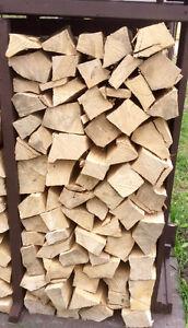 1/4 Face Cord Premium Bark Free Hardwood Firewood - St. Thomas