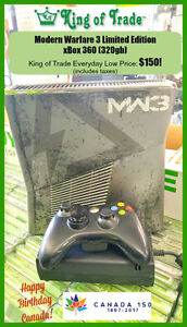 Limited Edition MW3 xBox 360 (320gb) - King of Trade